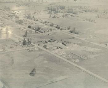 (2) Aspen Aerial Circa 1950